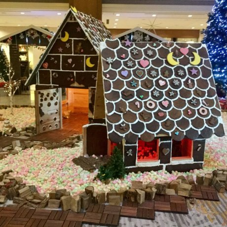Life-size Gingerbread House